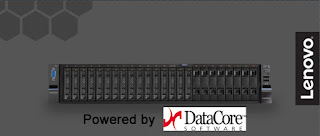 CeBIT : Lenovo Storage DX D powered by DataCore