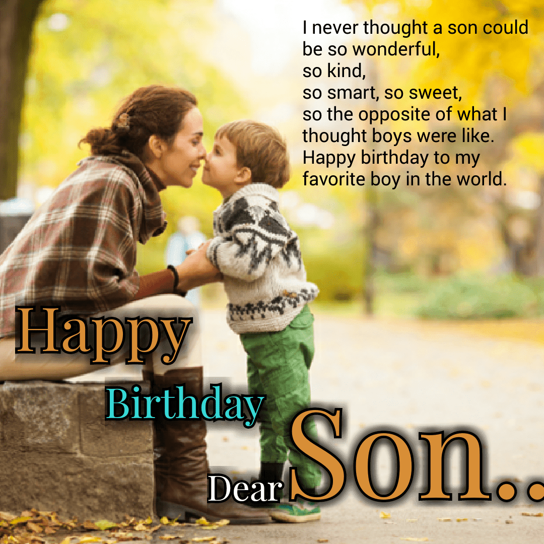 Top Happy Birthday Wishe For Son Images In English | Love Shayari in