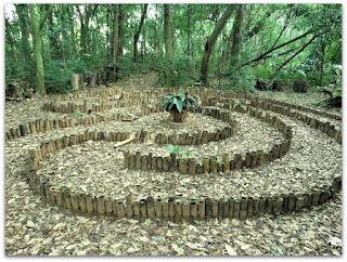 Labirinto da Oração na Escola Superior de Teologia, São Leopoldo