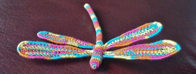 ergahandmade Crochet Dragonfly Free Pattern