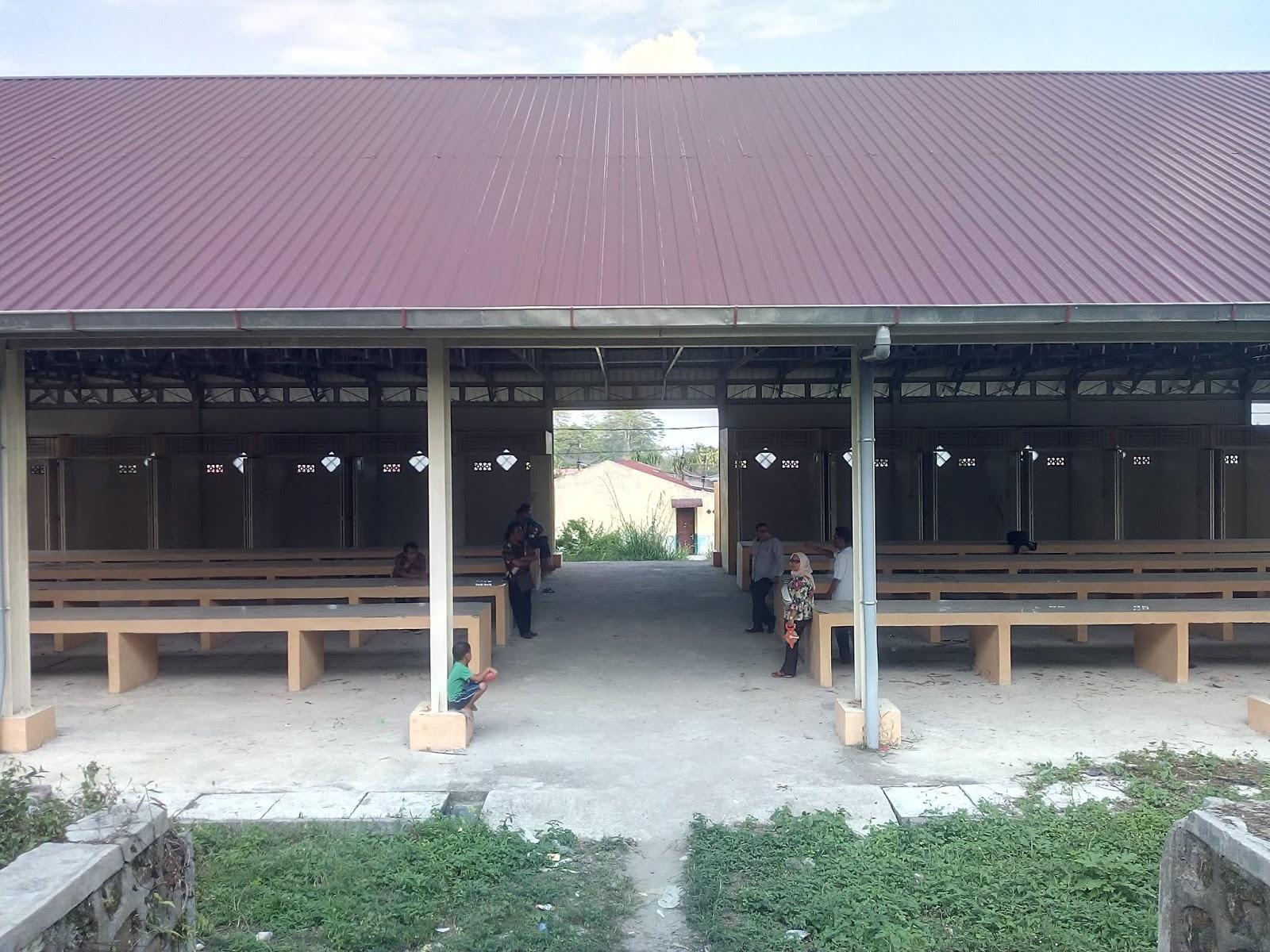 Pintu Utama Balairong Pasar Tozai