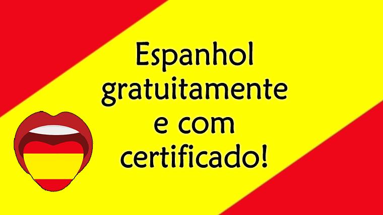 Curso Básico e Intermediário de Espanhol - gratuito, totalmente online e com certificado