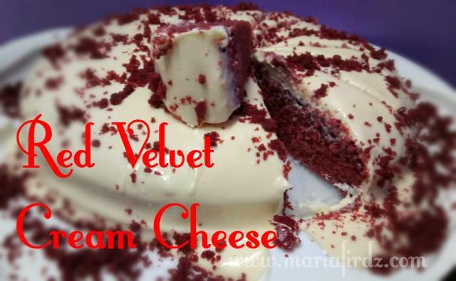 Resepi Kek Red Velvet Paling Mudah dan Sedap