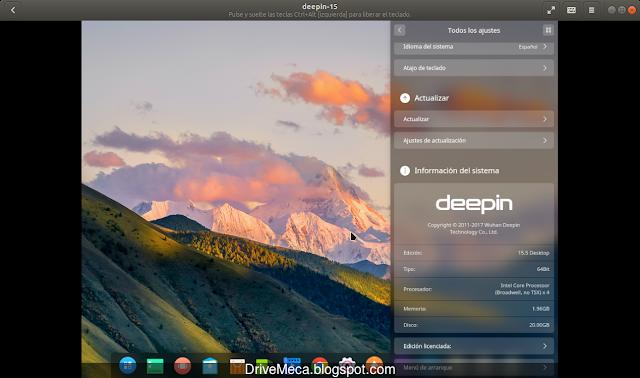 Deepin Linux funciona sin problemas en Gnome Boxes