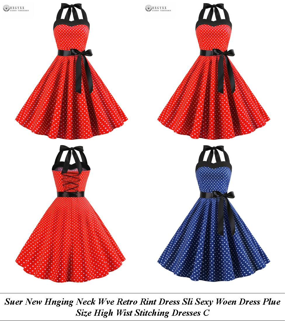 Floor Length Dresses For Wedding Guests - Retro Clothing And Accessories - Red White And Lue Dress Uk
