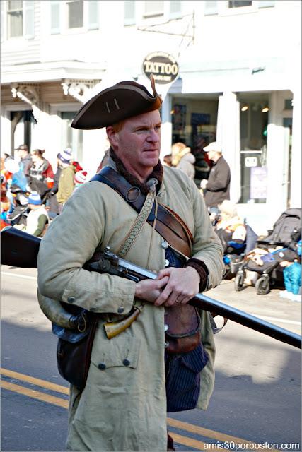 Piratas en el Desfile de Acción de Gracias de Plymouth