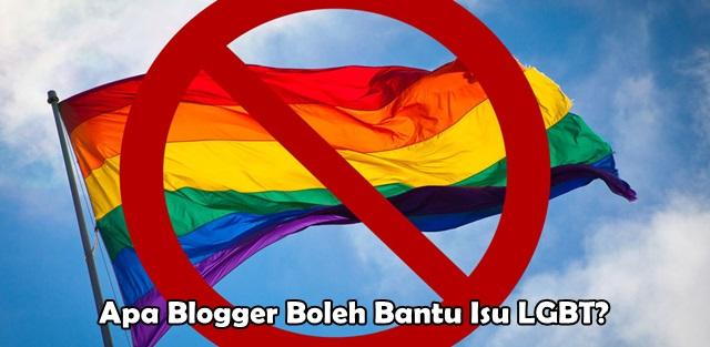 Apa Blogger Boleh Bantu Isu LGBT?
