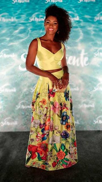 Erika Januza vestidos