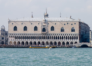 The Doge's Palace was traditionally the seat of the  Government of Venice under the Doge