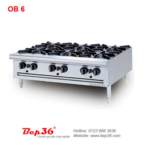 Bếp âu 6 họng Berjaya OB 6 tại Thanh Hóa