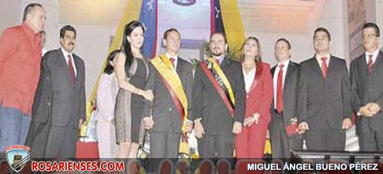José Vielma Mora tomó posesión como Gobernador de Táchira | Rosarienses, Villa del Rosario