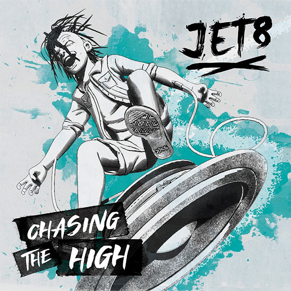 "Jet8 stream new album ""Chasing The High"""