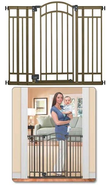 Summer Infant Extra Tall Decorative Walk Thru Gate
