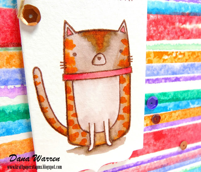 Dana Warren - Kraft Paper Stamps - My Favorite Things, Papertrey Ink