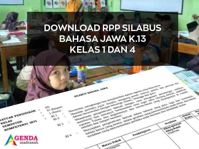 Silabus Bahasa Jawa Sd Kurikulum 2013 Diy
