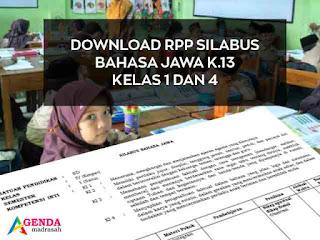 Kali ini  akan mengshare perangkat pembelajaran Bahasa jawa Kelas  Geveducation:  Download RPP Silabus Bahasa Jawa Kurikulum 2013 SD/MI Kelas 1 dan 4