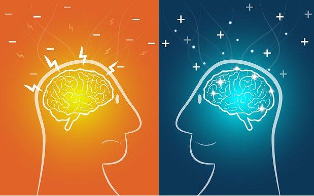 pensamientos positivos vs pensamientos negativos