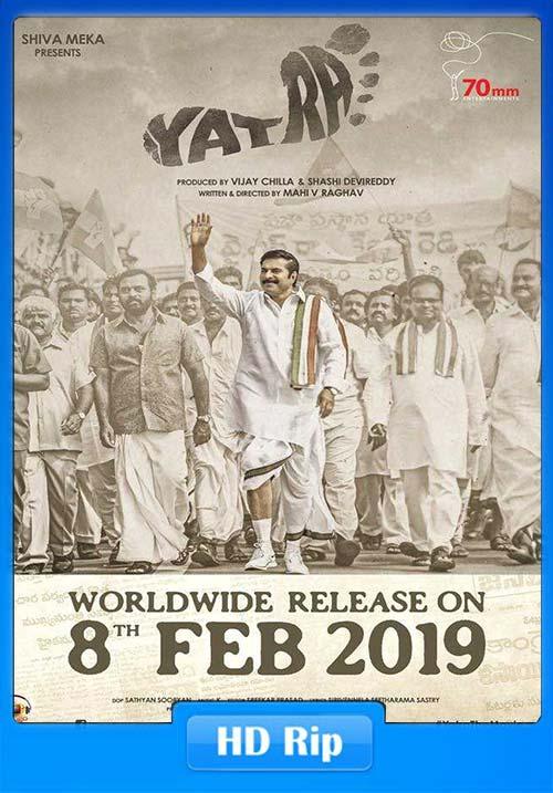 Yatra 2019 Malayalam HDRip x264 | 480p 300MB | 100MB HEVC