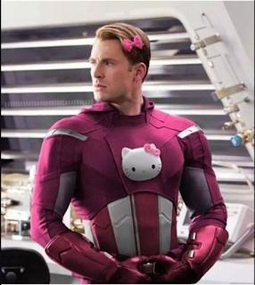 Si los Vengadores fueran Fans de Hello Kitty.