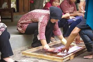 pelatihan batik dinas koperasi Kaltim