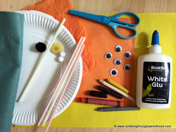 To make Easy Paper Plate Animal Craft you will need