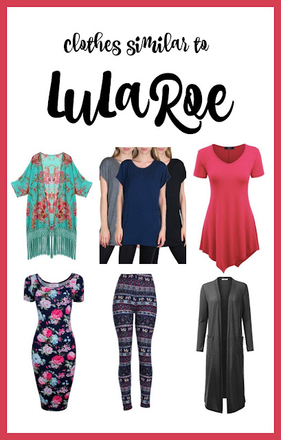 clothes similar to lularoe on Amazon