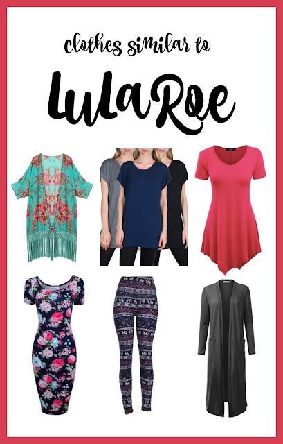 clothes similar to lularoe