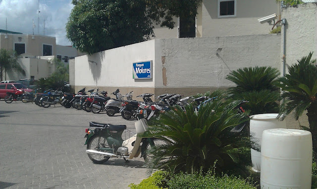 Motorcycle parking