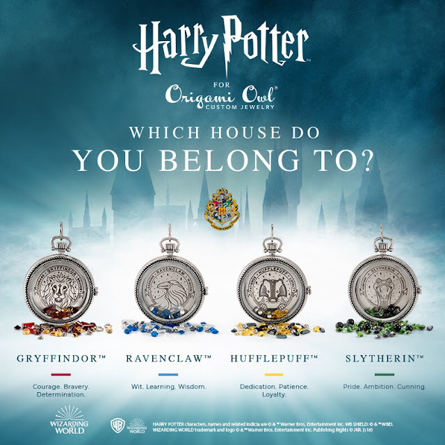 Origami Owl Harry Potter Collection Living Lockets at StoriedCharms.com