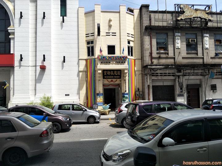 Lokasi Galeri Wonderfood Museum Penang