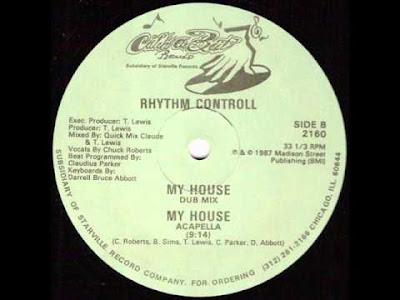 Rhythm Controll - My House (Acapella)