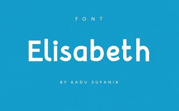 Günün Ücretsiz Fontu: Elisabeth