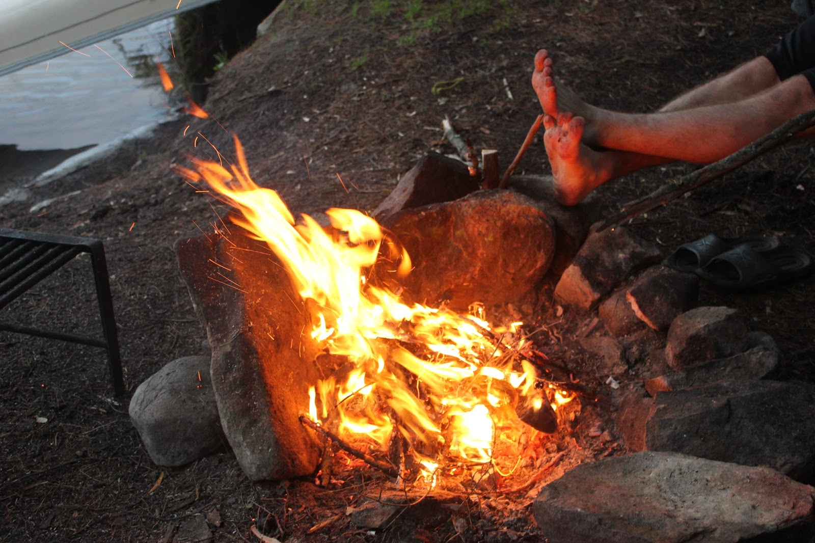Camping at Canisbay, Algonquin Provincial Park