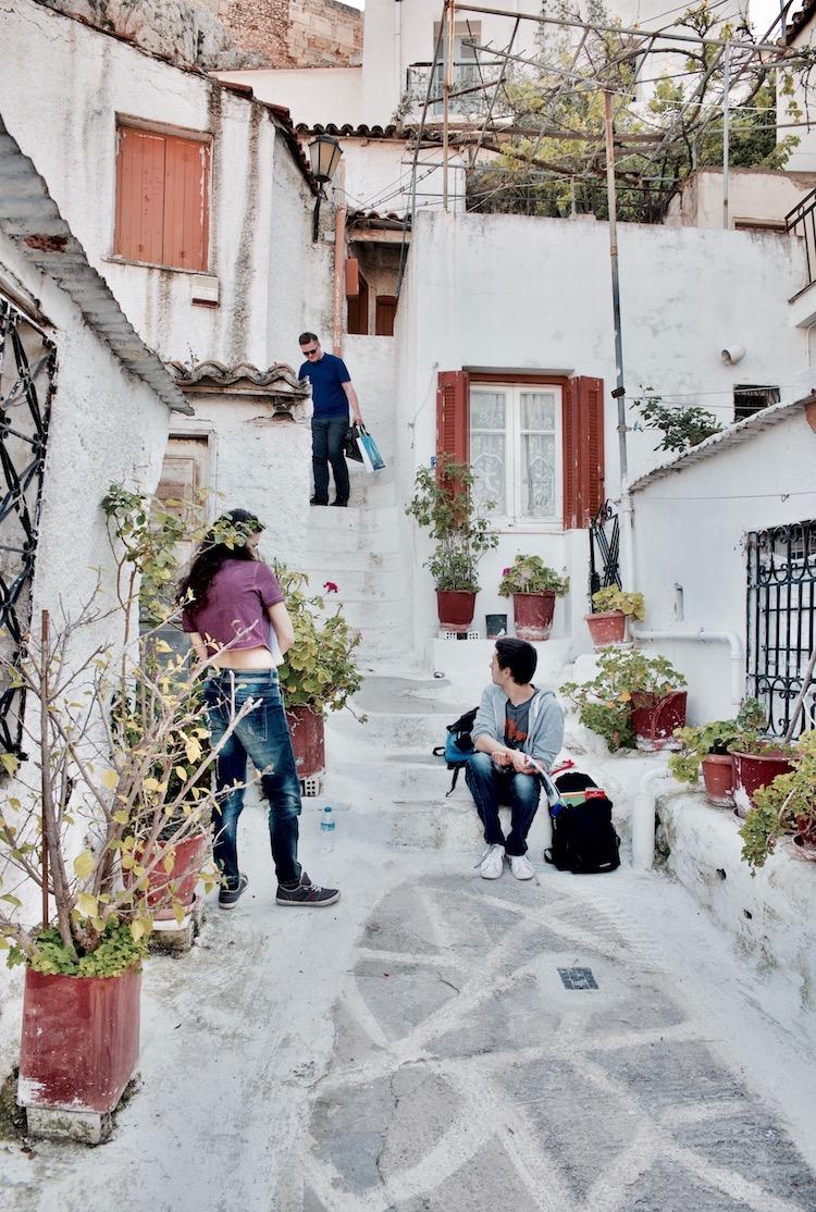Anafiotika Athens, Anafiotika Ateny Grecja