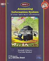 Judul : ACCOUNTING INFORMATION SYSTEM (Sistem Informasi Akuntansi), Buku 1 Pengarang : Marshall B. Romney Penerbit : Salemba Empat
