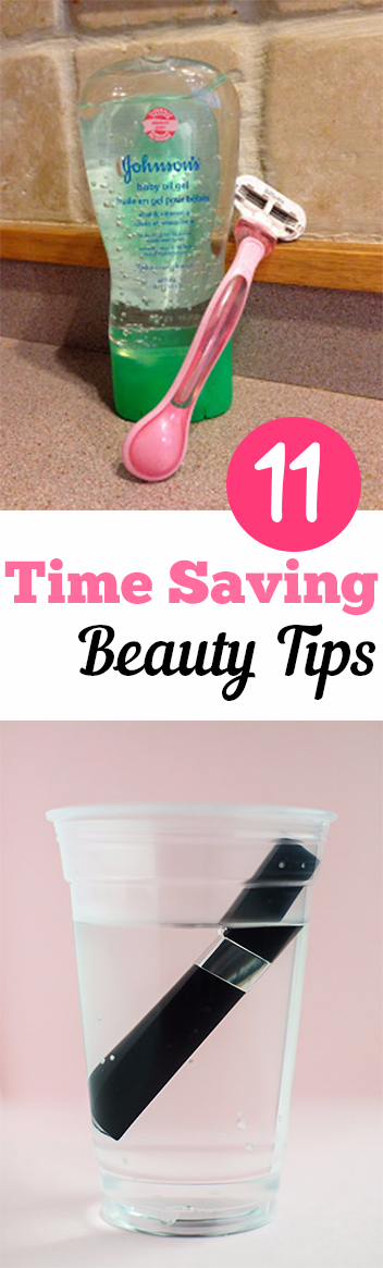 11 Time Saving Beauty Tips