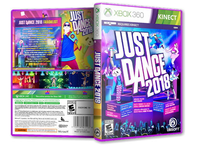Capa Just Dance 2018 Xbox 360 [Exclusiva]