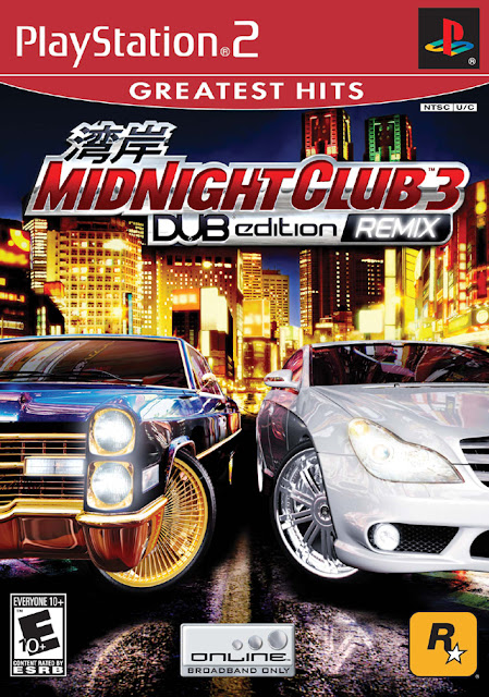 midnight club 3 ps2 compactado