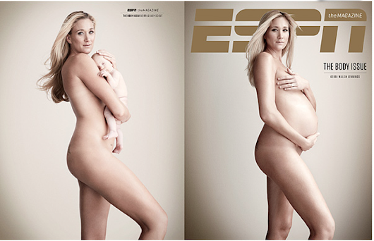 Maternity Portraits in the media - gorgeous Olympian Kerri Walsh Jennings [Kansas City maternity photographer]