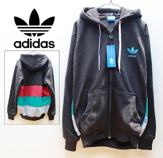 Jaket & Sweater Fleece Hoodie Adidas ADS011
