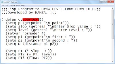 how to upload lisp to drawing