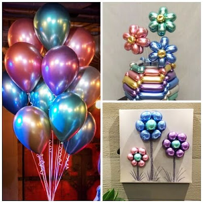 Balon Pentil Chrome (QUALATEX)