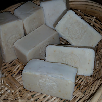 eight acres: soap making - how much water to use