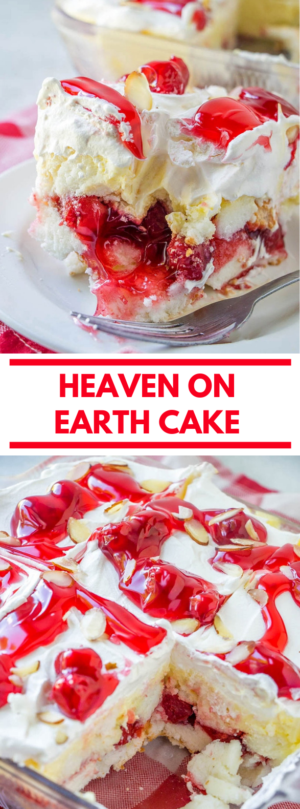 Heaven on Earth Cake #dessert #deliciouscake