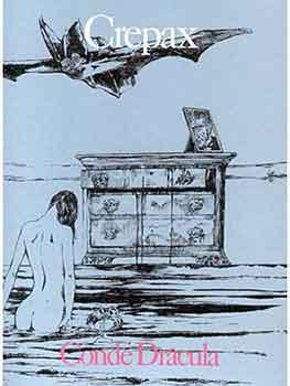 Drácula, Guido Crepax adaptando al cómic la novela de Bram Stoker