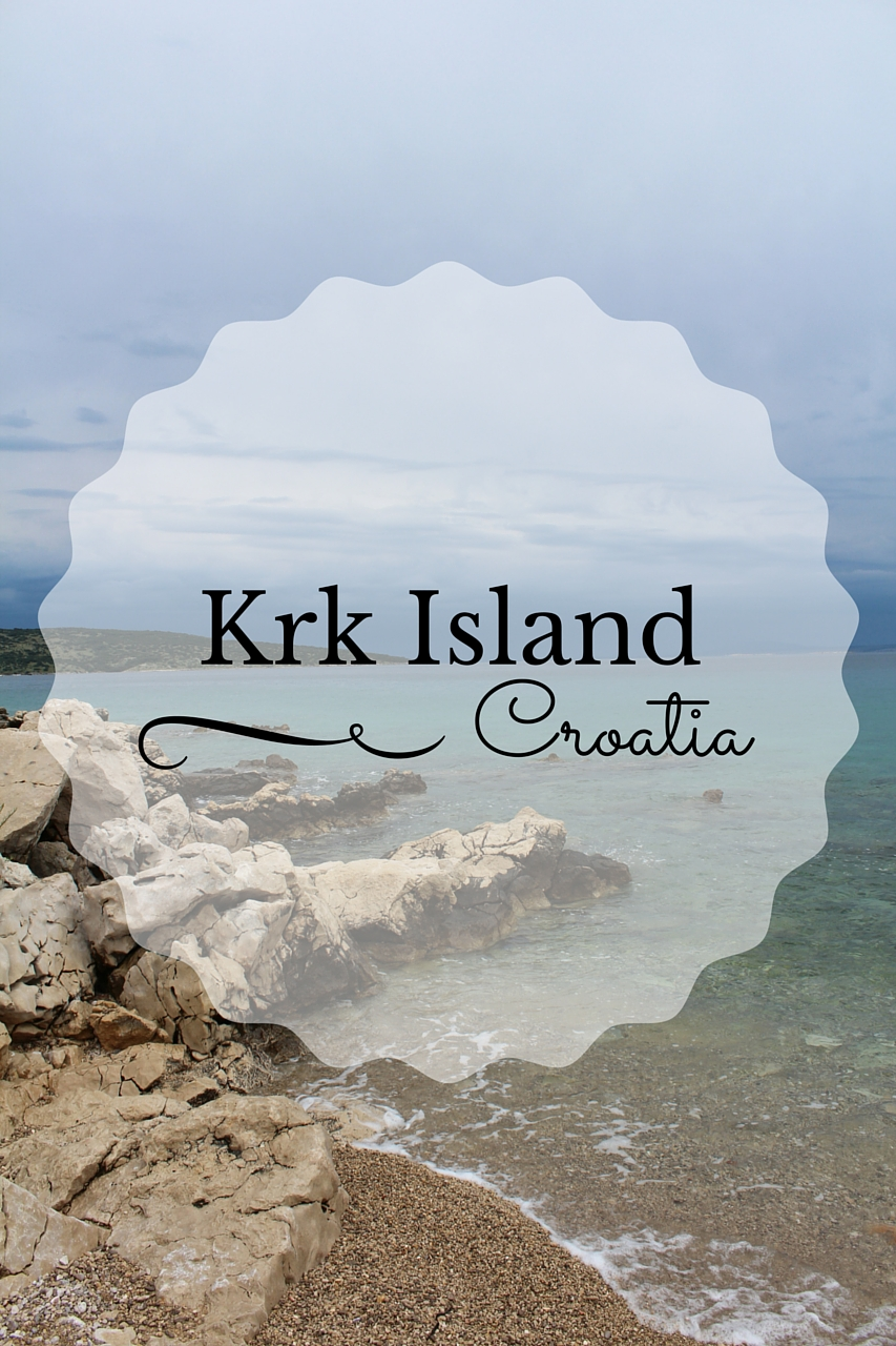 Krk Island in Croatia, Summer Travelling