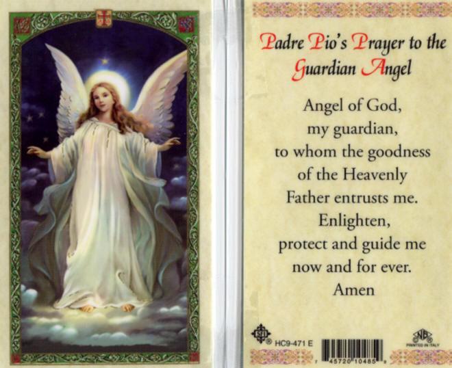 Resultado de imagem para padre pio e os anjos da guarda