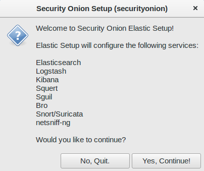 Security Onion: 2018