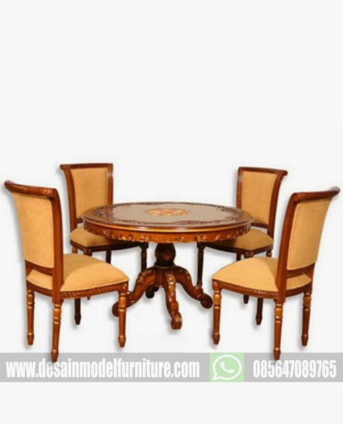 Set kursi makan salina ukir mewah