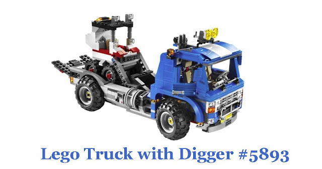 Lego Truck with Digger #5893